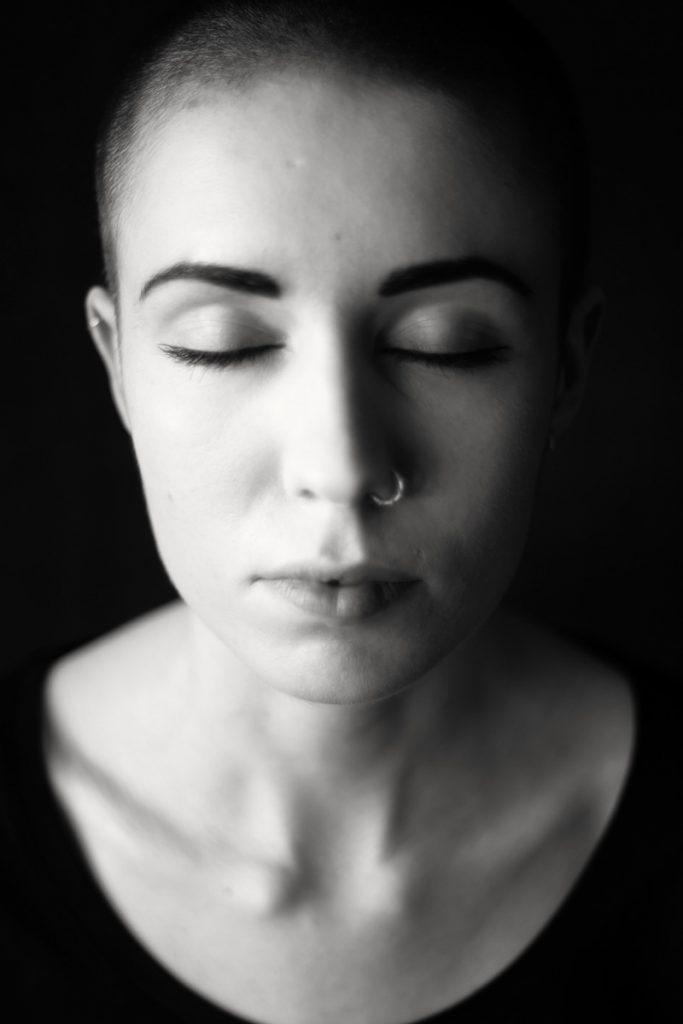 Sanftes Portrait von Paulina. Aufgenommen von Fotografin Astrid Schulz aus Bremen.