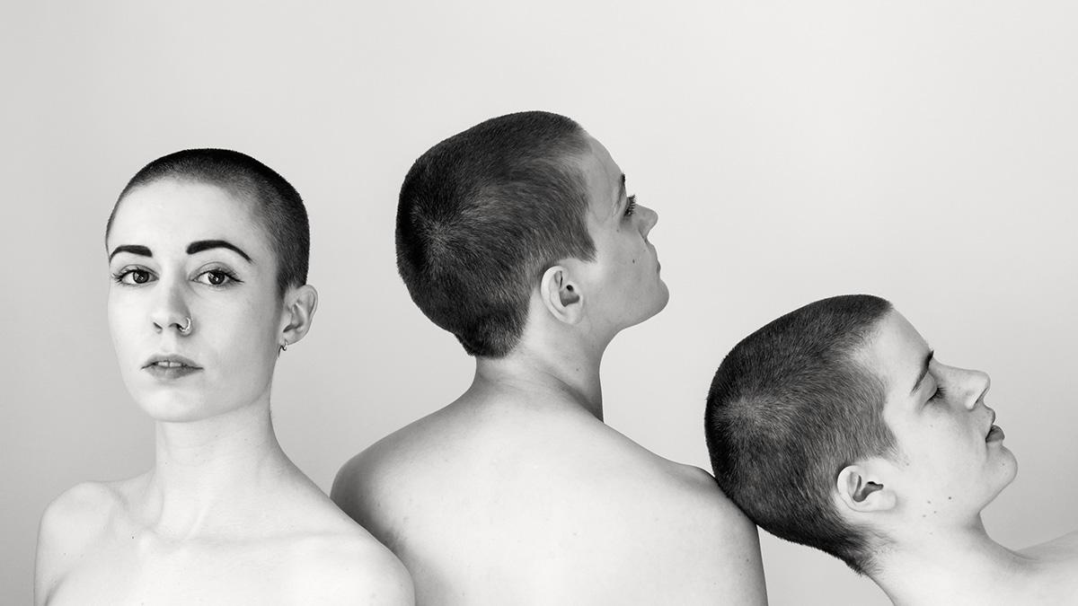 """aus der Serie """"Shaved Heads"""" von Fotografin Astrid Schulz aus Bremen"""