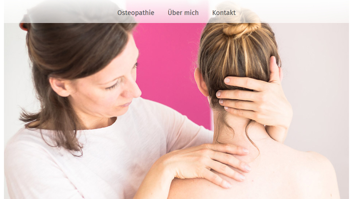 Stephanie Kolax Osteopathie, die Heilpraktikerin, Osteopathin und Physiotherapeutin in Bremen.